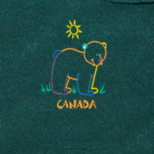 BEAR OUTLINE EMBROIDERY