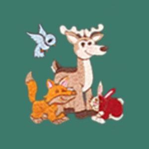 DEER, WOLF,BIRD & RABBIT BACK DESIGNS