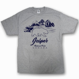 ADULT T-SHIRT WITH OUTLINE BEAR MOUNTAIN & TOWN NAME