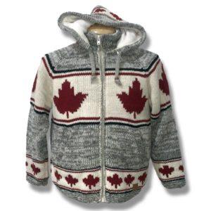 Adult Woolen Hooded Jackets